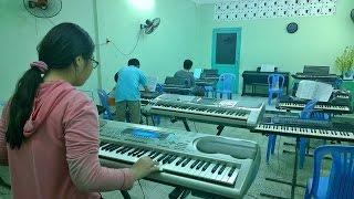 Hợp âm vòng - La thứ (Am) Organ