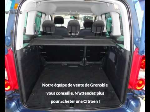 citroen berlingo occasion en vente grenoble 38 par peugeot grenoble youtube. Black Bedroom Furniture Sets. Home Design Ideas