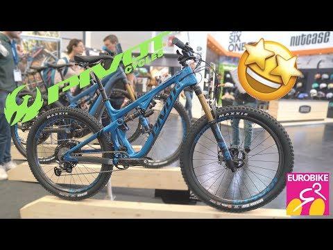 New PIVOT Bikes 2020 (Mach, Switchblade, Trail, Firebird, Phoenix, Shuttle) - Eurobike 2019 [4K]