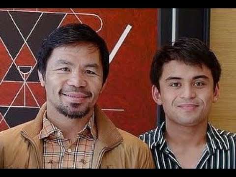 """Pacquiao & Jimuel"" Agaw pansin sa Wild Card Gym!!! (Like Father,Like son)"