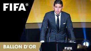 James Rodriguez: FIFA Puskas Award Reaction