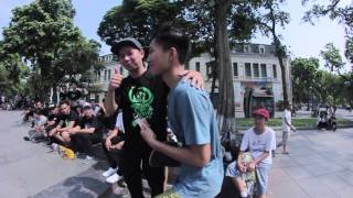 Hanoi Skateboarding Day 2015 : WILD IN THE STREETS