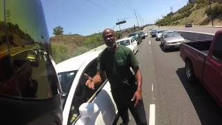 Motorcycle Road RAGE!!! Just The Fight! INTENSE!!!