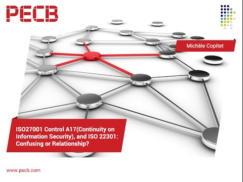 ISO 27001 control A17 and ISO 22301: confusion or relationship?