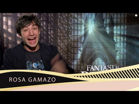 Ezra Miller for Fantastic Beasts talks about realizing as a kid he liked kissing boys.