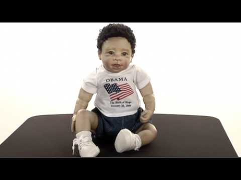 Barack Obama Collectible Baby Doll