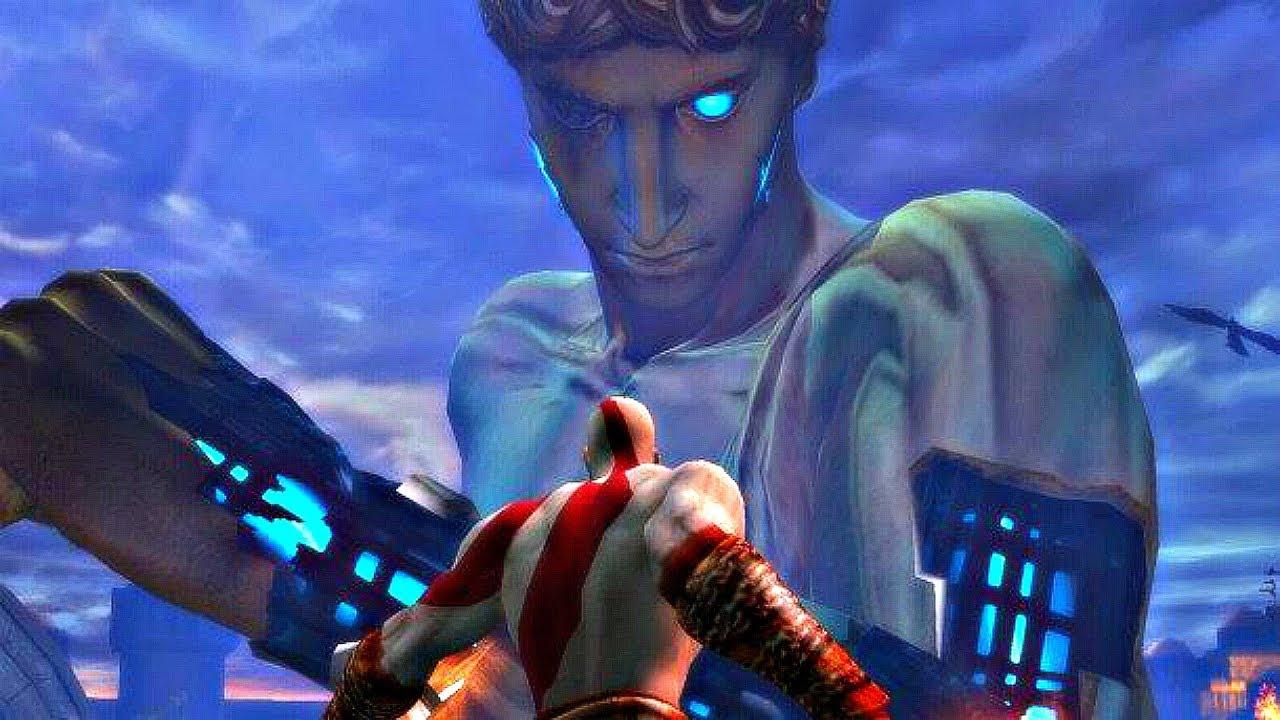 God of War 2 - Colossus Boss Fight (4K 60FPS) - YouTube
