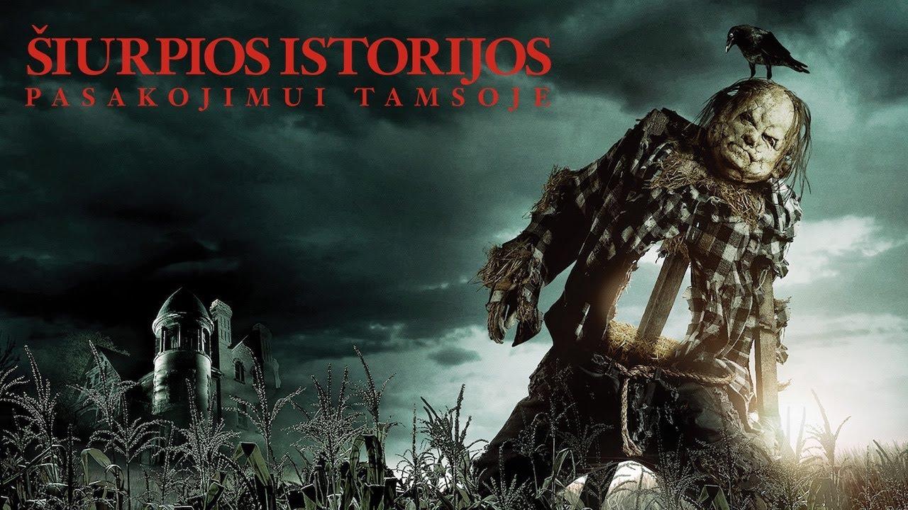 ŠIURPIOS ISTORIJOS PASAKOJIMUI TAMSOJE - Guillermo del Toro filmas kinuose nuo rugpjūčio 9 d.