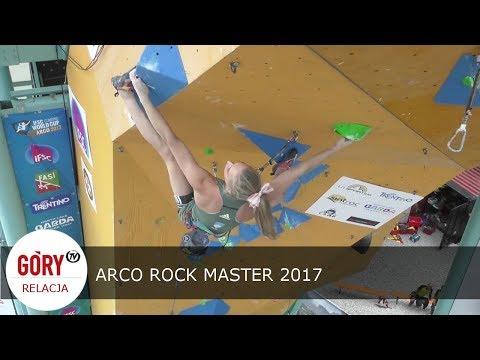 Arco Rock Master 2017 - relacja z Pucharu Świata IFSC