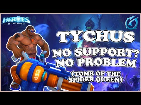 Grubby | Heroes of the Storm - Tychus - No Support? No Problem - HL 2018 S2 - TOSQ
