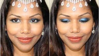 Pristine aqua blue makeup Thumbnail