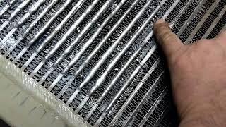 Ремонт радиатора винтового компрессора. ч 2
