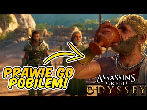 PRAWIE POBIŁEM PIJAKA! | Assassin's Creed Odyssey: Mroczne Dziedzictwo! | DLC #08 thumbnail