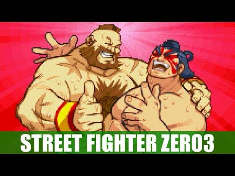 ザンギエフ(Zangief) エンディング - STREET FIGHTER ZERO3