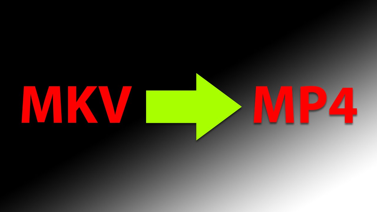 How to convert MKV to MP4 video file (Using VLC Player) - Tutorial