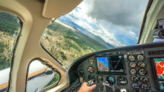 TURBOPROP - Cessna 425 (Taxi, Takeoff, Climb) **With cockpit Audio**