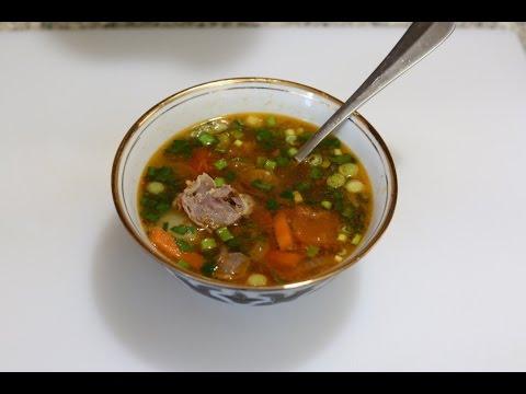 Суп в мультиварке из желудков куриных
