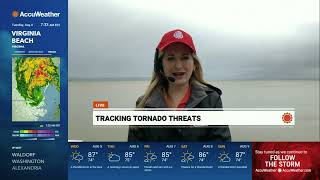 Tropical Storm Isaias - Live Field Coverage from Meteorologist Cheryl Nelson