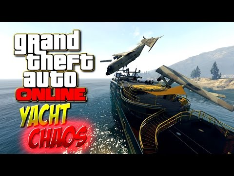 GTA ONLINE - Das große Yacht-CHAOS