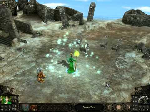 Etherlords II - Quick battle - Vital hero vs Hopper |