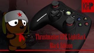 Обзор Thrustmaster GPX LightBack Black Edition