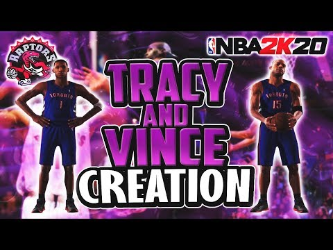THE OFFICIAL ROOKIE VINCE CARTER & PRIME TRACY MCGRADY CREATION! NBA 2K20 | CREATION 34.5