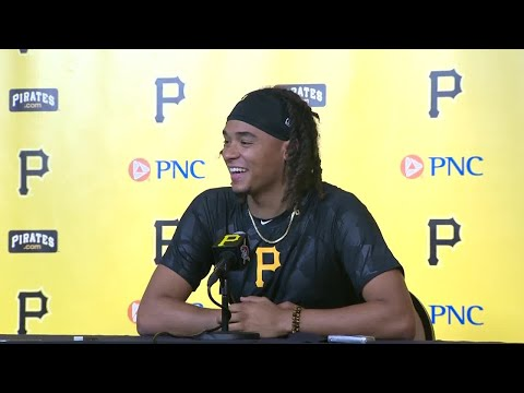 News conference: Chris Archer joins the Pittsburgh Pirates