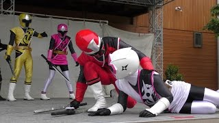 2015年5月6日に行われた「ニンニンジャー」のキャラクターショーです。