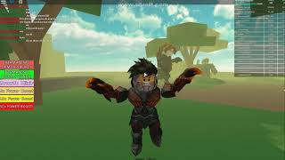 Growing Strong! Simulateur Roblox-Titan.