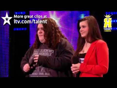 17 лет и 130 кг порвали Британия ищет Талант!