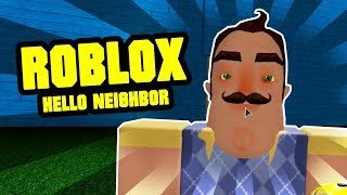 ROBLOX HELLO NEIGHBOR MAP