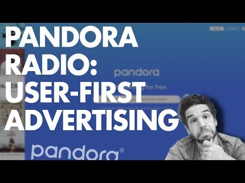 Pandora Radio: User-First Advertising (This is Smart!)