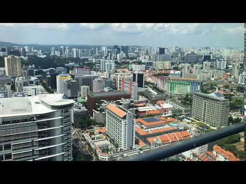 Singapore TimeLapse from Above