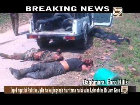 4 Policemen Killed, 2 Injured in Garo Hills Ambush in Meghalaya