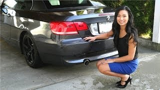 BMW 335i stock exhaust sound N54