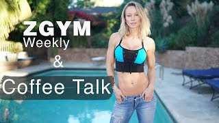 Coffee Talk - My Favorite Healthy Drinks & ZGYM Weekly