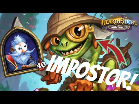 IS IMPOSTOR MILLHOUSE THE REAL DEAL!?   Hearthstone Battlegrounds