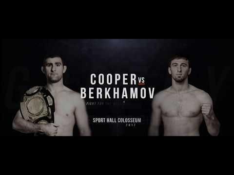 Мухамед Берхамов - Бретт Купер. HD / Berkhamov vs. Cooper