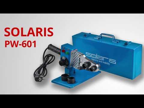 Solaris PW-601 Сварочный аппарат для полимерных труб
