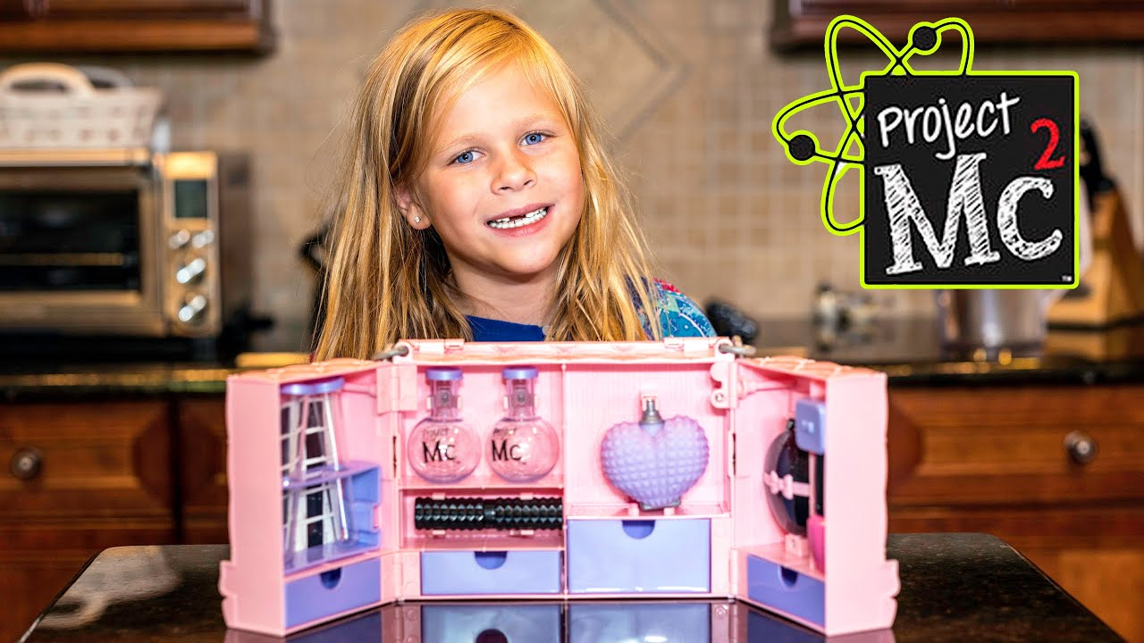 assistant unboxing the project ultimate mc2 super spy kit and play set youtube. Black Bedroom Furniture Sets. Home Design Ideas