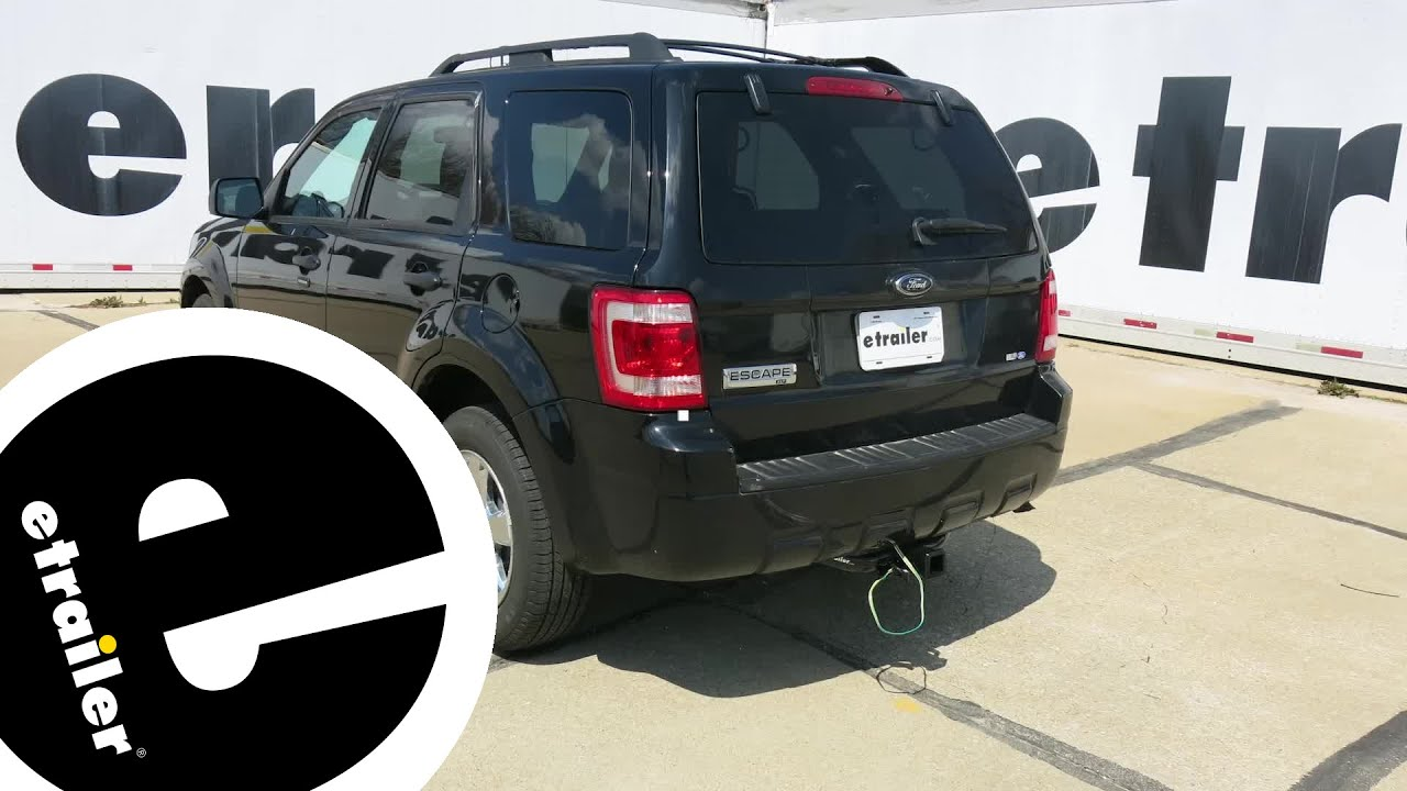 install trailer wiring 2009 ford escape 118251 etrailer com [ 1280 x 720 Pixel ]