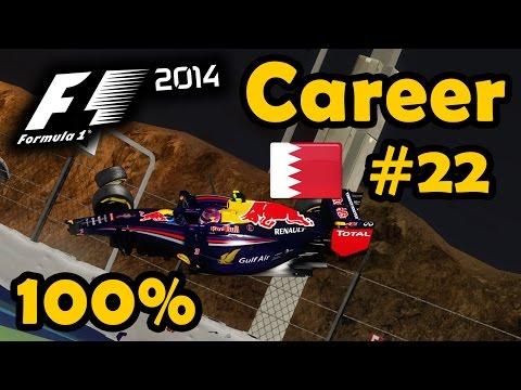 F1 2014 Career Part 22 - 100 % Bahrain Grand Prix Race - Ultra Mod