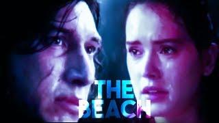 rey + kylo ren/ben solo | the beach (+TLJ SPOILERS)
