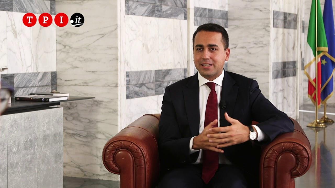 Il direttore Giulio Gambino intervista il ministro degli Esteri Luigi Di Maio