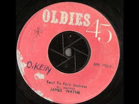 James Wayne - Tend To Your Business - oldies 45 records -  jump blues