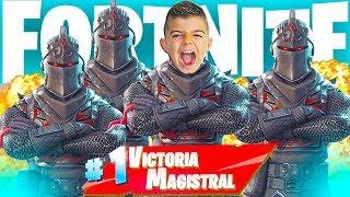 TEAM DE *CABALLEROS NEGROS* EN FORTNITE!!! Squad En Ps4