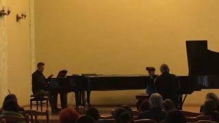 R.Laur ''The Girl and The Dragon'' - Arina Kinzikeeva (9 years) & Dmytro Mykytyn