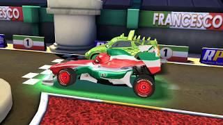 Komodo Vs Francesco Bernoulli & Shifty Disney PIXAR Cars for Kids Game Play