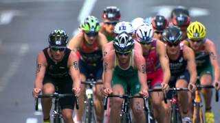 2014 ITU World Triathlon Auckland - Elite Men