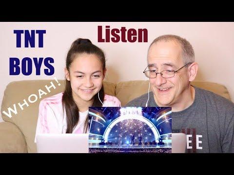 TNT Boys Sing Beyonces Listen  Little Big Shots  REACTION